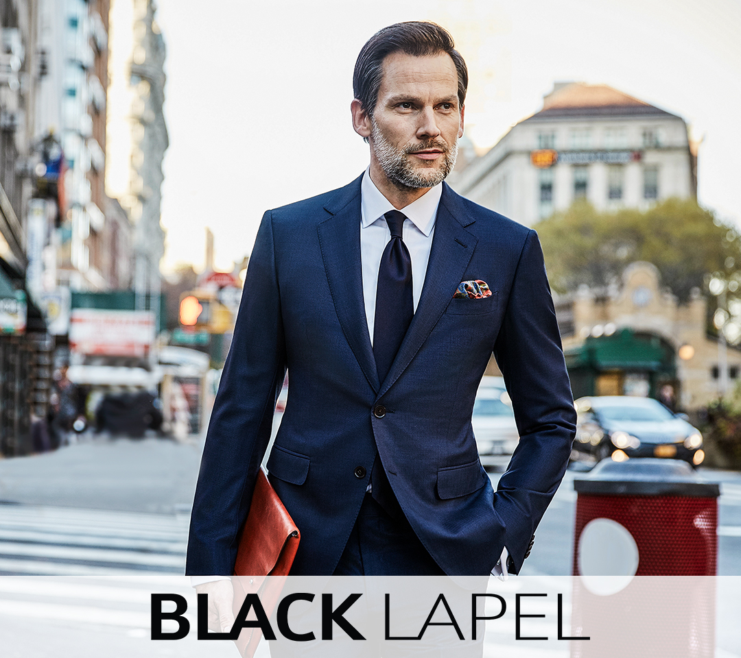 The Best Custom Mens Suits And Shirts Online Black Lapel